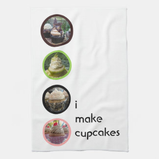 I Make Cupcakes Kitchen Towel
