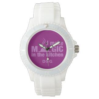 I Make Magic custom monogram watches