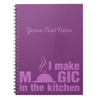 I Make Magic custom notebook