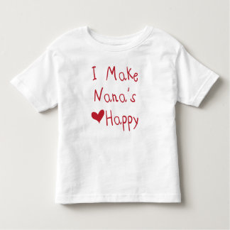 I Make Nana's Heart Happy T-Shirt (Red)