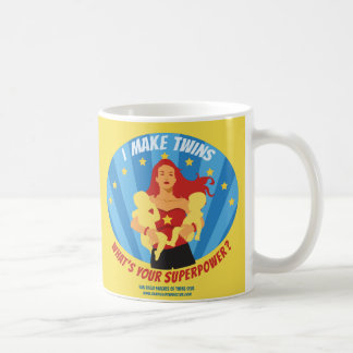 I Make Twins - What's Your Superpower? Coffee Mug