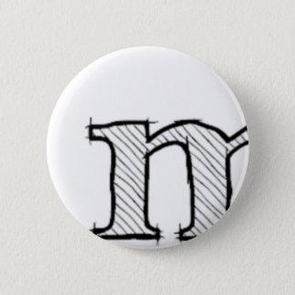 'i' : man (Karl Lentz) 2 Inch Round Button