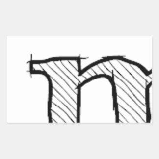 'i' : man (Karl Lentz) Sticker