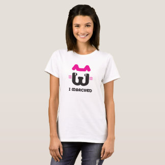 I Marched Pussyhat T-shirt (Basic Shirt)