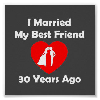 I Married My Best Friend 30 Years Ago Poster