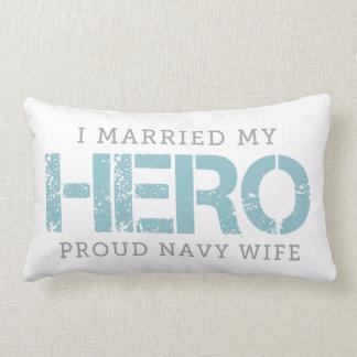 I Married My Hero - Sailor's Wife Lumbar Pillow