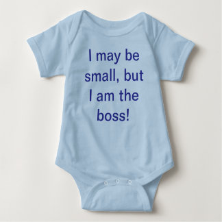 I may be small baby bodysuit