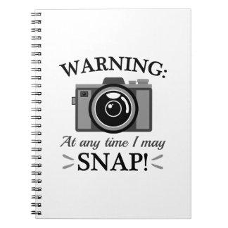 I May Snap Notebook