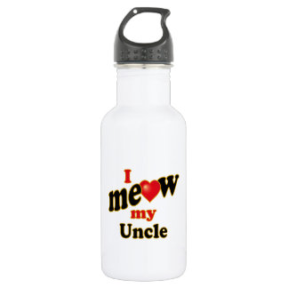 I Meow My Uncle 532 Ml Water Bottle