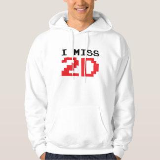 I Miss 2D Hoodie