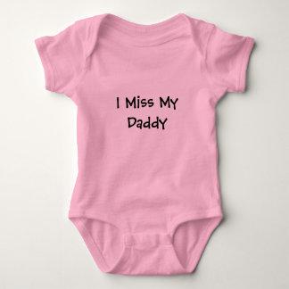 I Miss My Daddy Baby Bodysuit