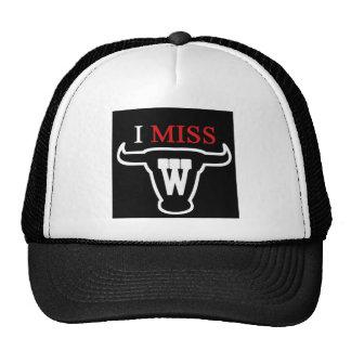 i MISS W TEXAS STYLE Mesh Hats