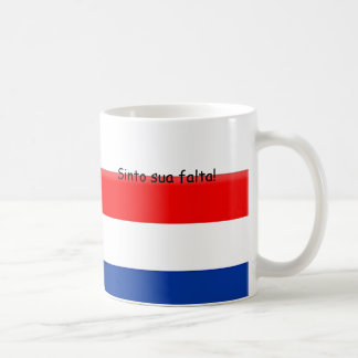 I miss you Holland Brazil Coffee Mug