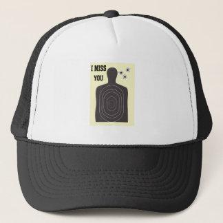 I MISS YOU TRUCKER HAT