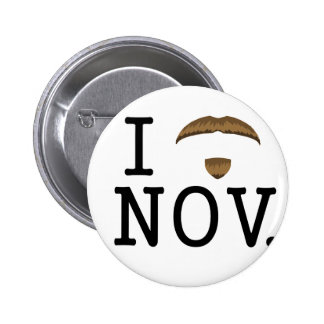 I Mo November- Badge 2 Inch Round Button