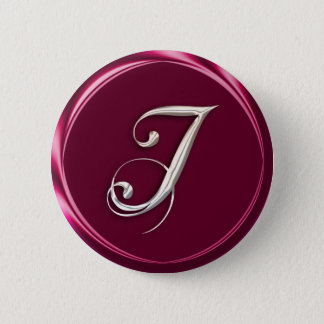 I-monogram 2 Inch Round Button