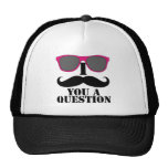 I Moustache You A Question Pink Sunglasses