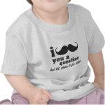 i moustache you a question t-shirts