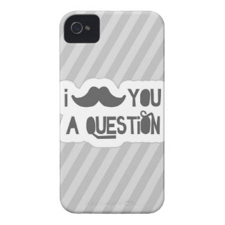 I Mustache You A Question iPhone 4 Covers