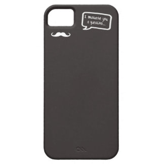 i mustache you a question mini gray case for the iPhone 5