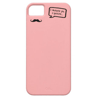 i mustache you a question mini pink iPhone 5 case