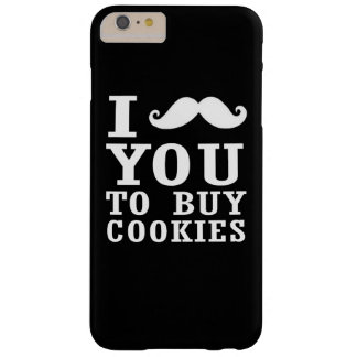 I Mustache You Barely There iPhone 6 Plus Case