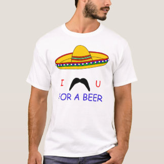 I Mustache You For A Beer Cinco de Mayo T-shirt