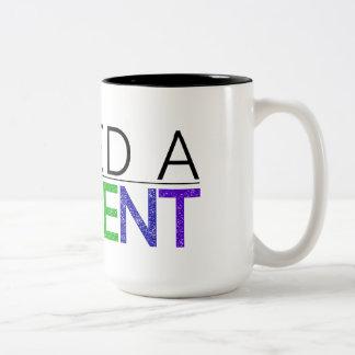 I NEED A MOMENT 2-tone mug