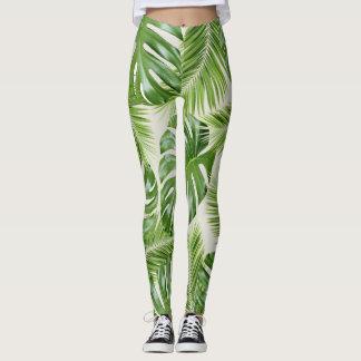 I Need a Tropical Vacation Print Leggings