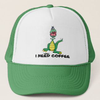 I Need Coffee Cap - Customisable
