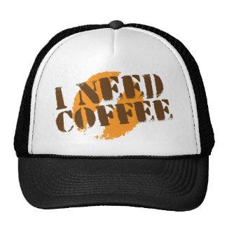 I NEED COFFEE! MESH HAT