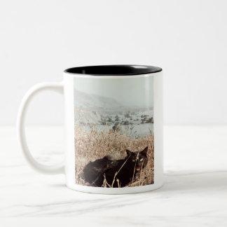 I need Coffee Two-Tone Coffee Mug