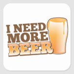 I NEED MORE BEER from The Beer Shop Sticker
