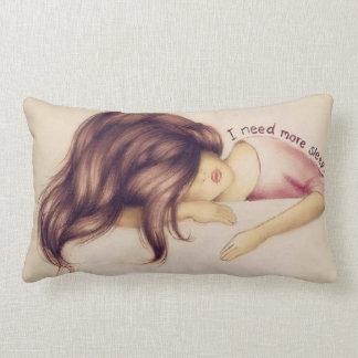 I need more sleep lumbar pillow