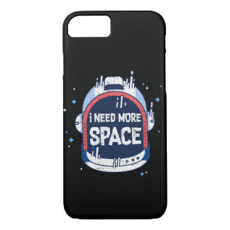 I Need More Space Aerospace Rocket Helmet Case-Mate iPhone Case