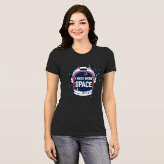 I Need More Space Aerospace Rocket Helmet T-Shirt
