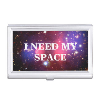 I Need My Space Business Card Holder