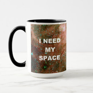 I Need My Space - Pink Mug
