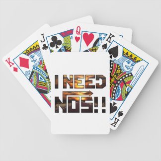 i need nos bicycle playing cards