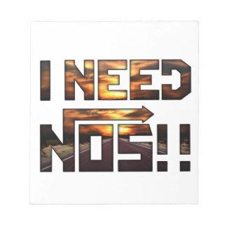 i need nos notepad