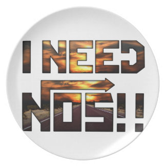 i need nos plate