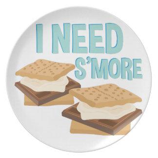 I Need Smore Plates
