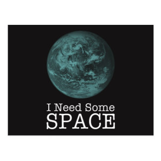 I Need Some Space 8 Postcards