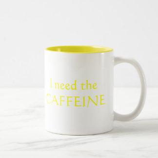 I need the CAFFEINE to keep up with my QUADS! Mug
