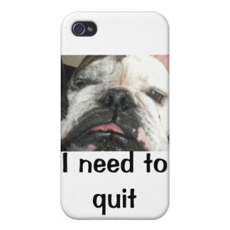 """""""I need to quit drinking"""" i iPhone 4 Cases"""