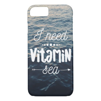 I Need Vitamin Sea iPhone 8/7 Case
