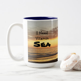 I Need Vitamin Sea Mug