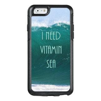I Need Vitamin Sea- Travel/Beach Phone Case