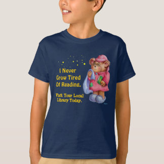 I Never Grow Tired Of Reading T-Shirt