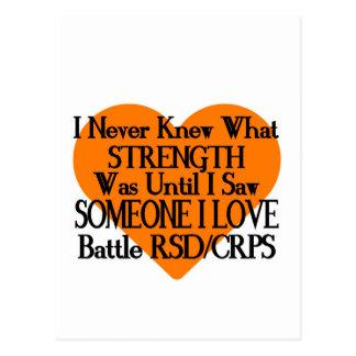 I Never Knew...Someone I Love...RSD/CRPS Postcard